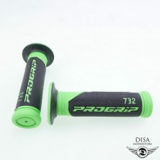 Griff Gummi Satz Lenkergriffgummis 732 grün für Peugeot Kisbee NEU *
