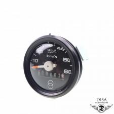 Tacho 48mm Tachometer 0 - 60 km/h für Piaggio Vespa Ciao NEU *