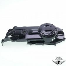 Variodeckel Motor Deckel Schwarz für Piaggio Vespa LX 50 4 Takt NEU *
