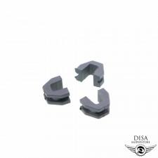 Variomatik Gleitstücke Gleitschuhe 3x für GY6 50ccm China 4-Takt Roller NEU *