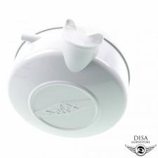Benzintank mit Tankdeckel Grau für Velosolex Velo Solex NEU *