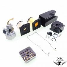 Vergaser 12mm + Düsen + 2x Filter + Luftfilter Hercules Prima 2 3 4 5 S NEU *