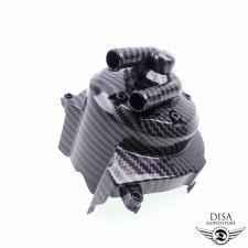 Wasserpumpe Carbonfarben Wasserpumpendeckel für Peugeot Ludix LC NEU *