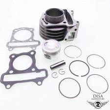 Zylinder 72ccm Tuning für GY6 50ccm China 4-Takt Roller NEU *