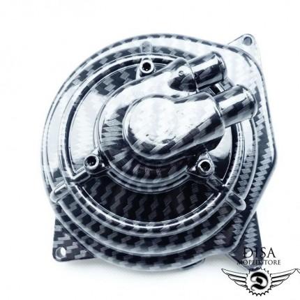 Wasserpumpe Carbonfarben Wasserpumpendeckel für Yamaha Aerox und MBK Nitro NEU *