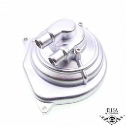 Wasserpumpe Chromfarben Wasserpumpendeckel für Yamaha Aerox und MBK Nitro NEU *